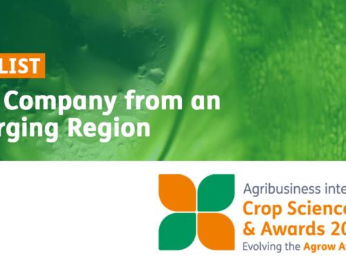 Вперше компанія з України стала фіналістом міжнародної премії Crop Science Awards 2019