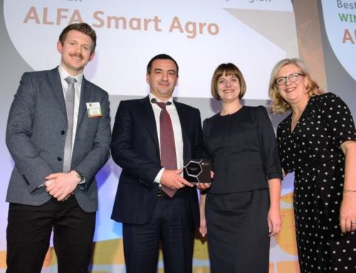 Вперше в історії українська компанія стала переможцем найпрестижнішої премії у галузі захисту рослин!